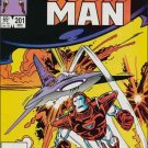 IRON MAN #201 VF-(1968)