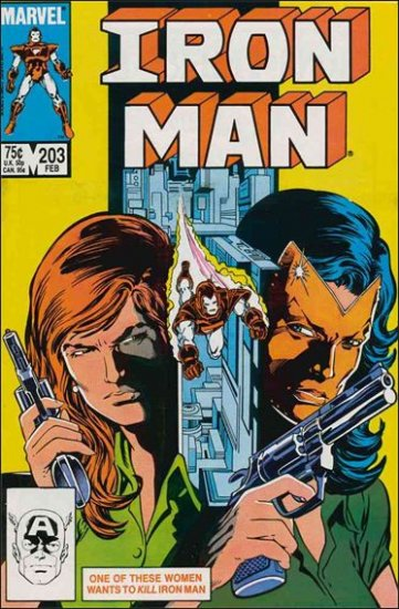 IRON MAN #203 VF/NM (1968)