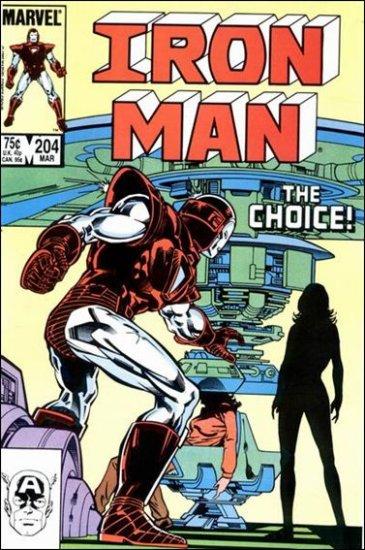 IRON MAN #204 VF/NM (1968)