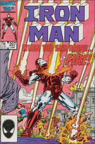 IRON MAN #207 VF (1968)