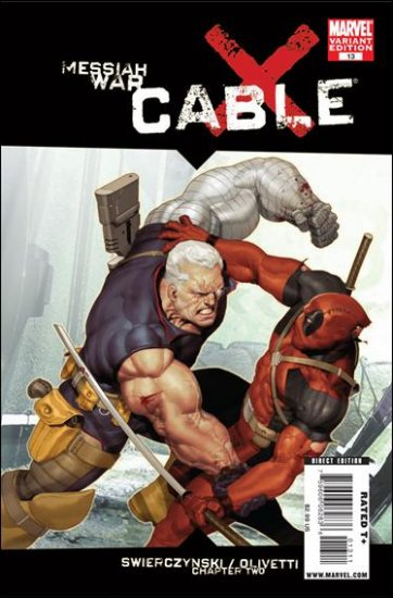 CABLE #13 VARIANT NM (2009) *MESSIAH WAR*