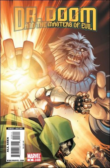 DR. DOOM AND THE MASTERS OF EVIL #3 NM (2009)