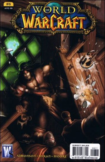 WORLD OF WARCRAFT # 8 NM (2008) (COVER A)