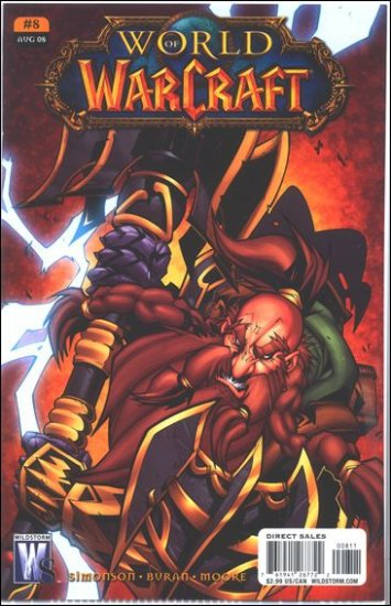 WORLD OF WARCRAFT # 8 (2008) (COVER B)