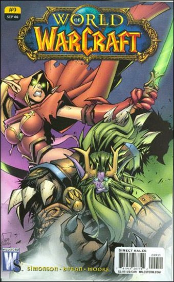 WORLD OF WARCRAFT # 9 NM (2008) (COVER A)