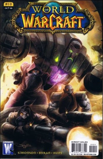 WORLD OF WARCRAFT # 10 NM (2008) (COVER B)