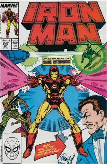 IRON MAN #235 VF/NM (1968)