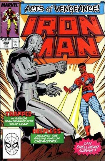 IRON MAN #252 VF (1968)