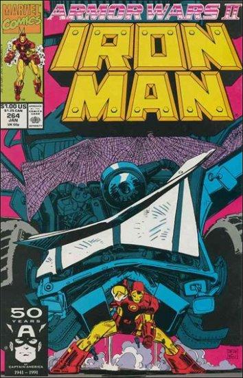 IRON MAN #264 VF/NM (1968) ARMOR WARS II