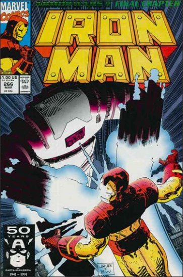 IRON MAN #266 VF/NM (1968) ARMOR WARS II FINAL