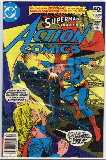 Action Comics (Vol 1) #502 [1979] VF-