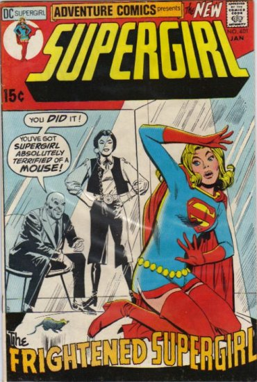 ADVENTURE COMICS #401  SUPERGIRL F/VF