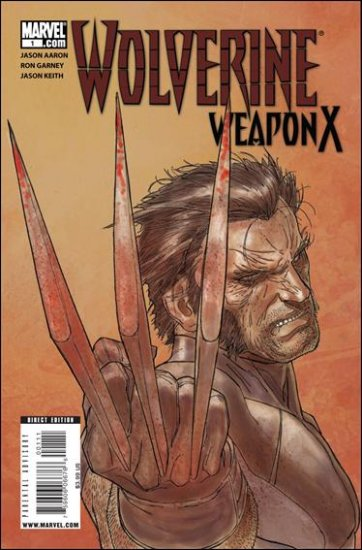 WOLVERINE WEAPON X #1  VARIANT NM (2009)