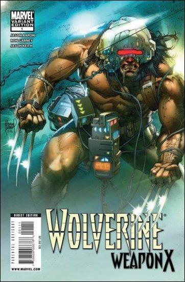 WOLVERINE WEAPON X #1 NM (2009)