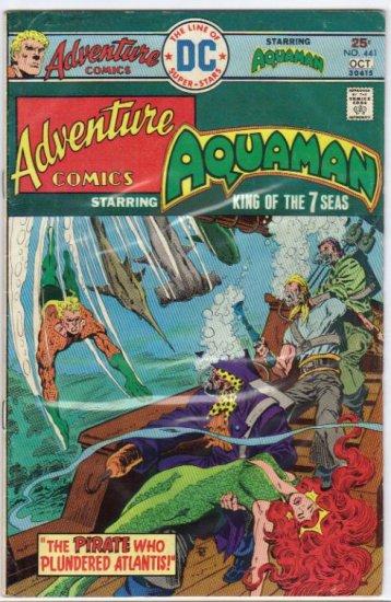 ADVENTURE COMICS #441 *AQUAMAN*