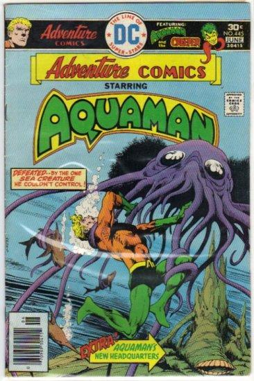 ADVENTURE COMICS #445 *AQUAMAN*
