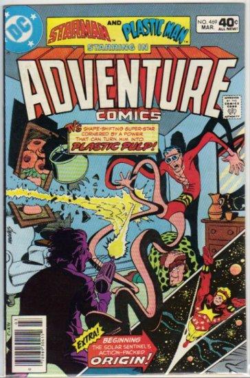 ADVENTURE COMICS #469 *STARMAN,PLASTIC MAN*