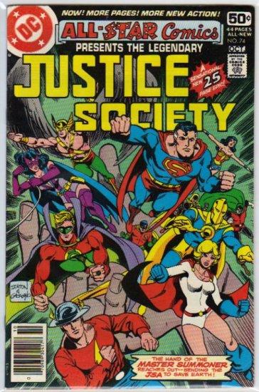 ALL STAR COMICS #74 *JSA*