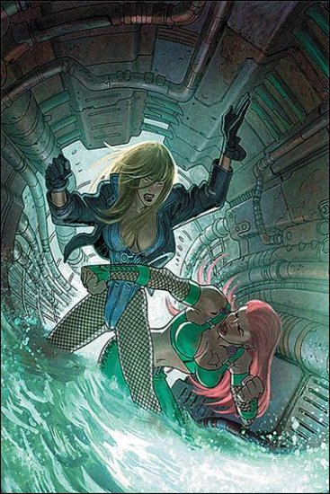 GREEN ARROW AND BLACK CANARY #19 NM (2009)