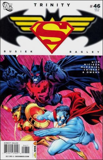 TRINITY #46 NM (2009) SUPERMAN, BATMAN, WONDER WOMAN