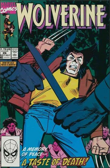 WOLVERINE #26 F/VF (1988)