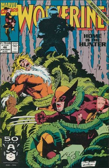 WOLVERINE #46 VF/NM (1988)