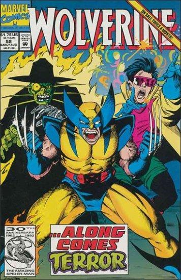 WOLVERINE #58 VF/NM (1988)