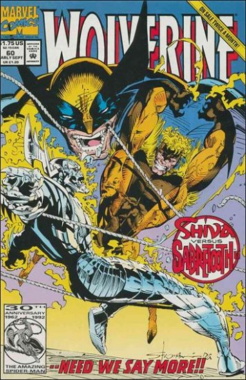 WOLVERINE #60 VF/NM (1988)