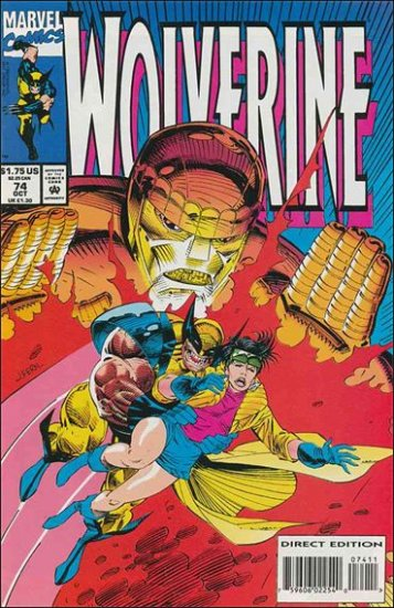 WOLVERINE #74 VF/NM (1988)