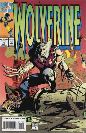 WOLVERINE #77 VG/F (1988)