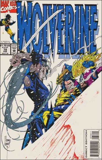 WOLVERINE #78 VF/NM (1988)