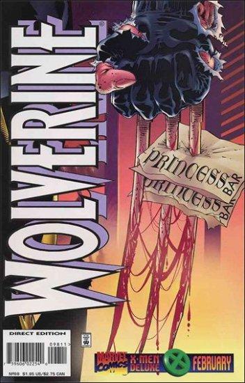 WOLVERINE #98 VF (1988)