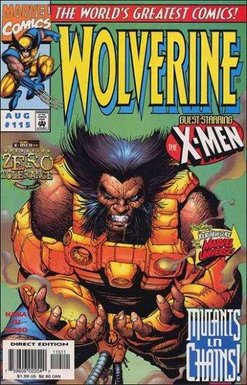 "WOLVERINE #115 VF/NM (1988) ""OPERATION ZERO TOLERANCE"""