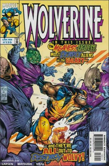 WOLVERINE #135 VF/NM (1988)