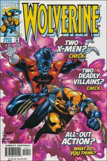 WOLVERINE #140 VF/NM (1988)