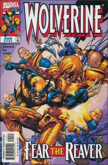 WOLVERINE #141 VF/NM (1988)