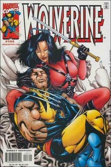 WOLVERINE #153 VF/NM (1988)