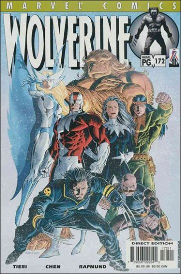 WOLVERINE #172 VF/NM (1988)