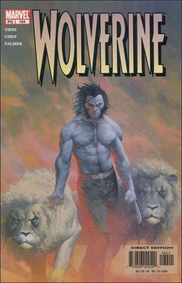 WOLVERINE #184 VF/NM (1988)