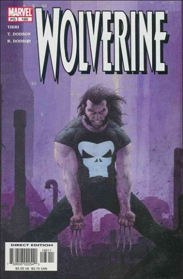 WOLVERINE #186 VF/NM (1988)