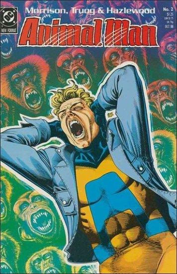 ANIMAL MAN #2 VF/NM (1988)