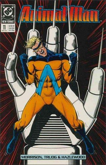 ANIMAL MAN #11 VF/NM (1988)