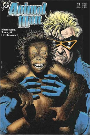 ANIMAL MAN #17 VF/NM (1988)