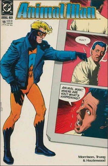 ANIMAL MAN #19 VF/NM (1988)