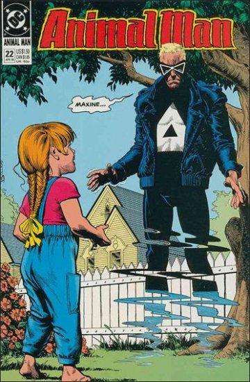 ANIMAL MAN #22 VF/NM (1988)