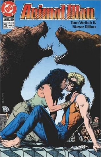ANIMAL MAN #43 VF/NM (1988)