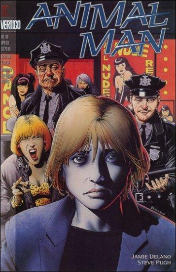 ANIMAL MAN #58 VF/NM (1988) *VERTIGO*