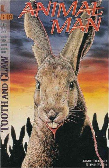 ANIMAL MAN #62 VF/NM (1988) *VERTIGO*