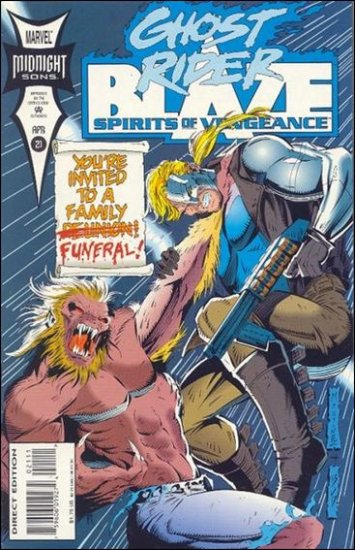 GHOST RIDER/BLAZE: SPIRITS OF VENGEANCE #21 VF/NM