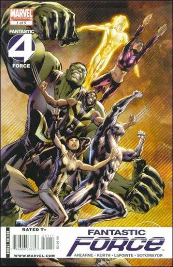 FANTASTIC FORCE #1 NM (2009)